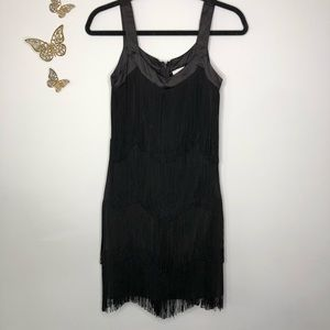 🦋🌙 NEW YORK & COMPANY   Stretch Flapper Dress
